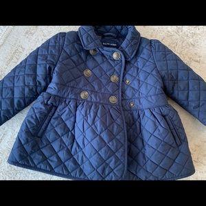 Ralph Lauren Quilted Baby Coat Jacket